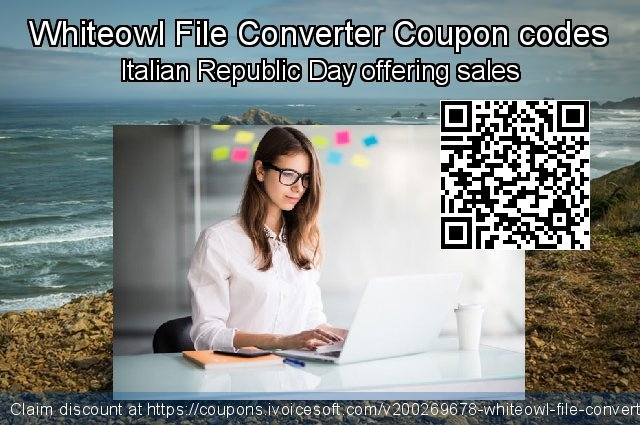 Whiteowl File Converter Coupon code for 2020 College Student deals