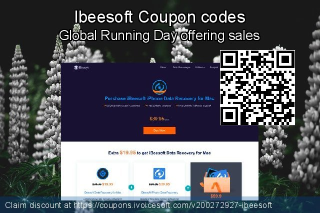 Ibeesoft Coupon code for 2021 Spring