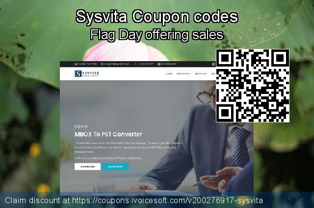 Sysvita Coupon code for 2020 New Year