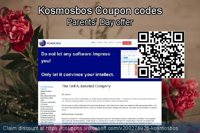 Kosmosbos Coupon code for 2020 College Student deals