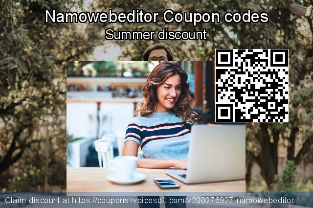 Namowebeditor Coupon code for 2020 Rose Day