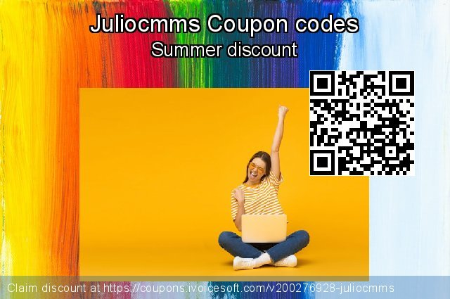 Juliocmms Coupon code for 2020 Happy New Year