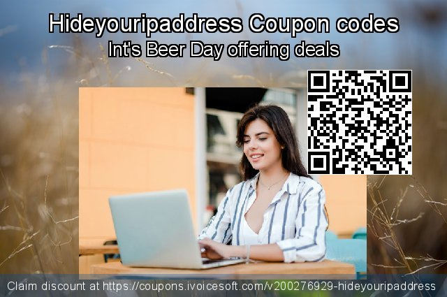 Hideyouripaddress Coupon code for 2020 Back to School promotion