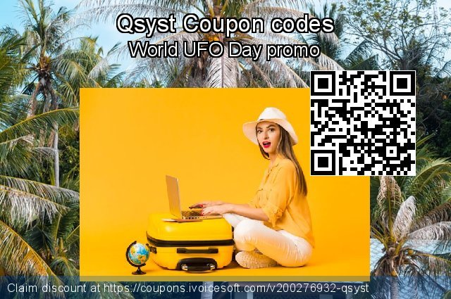 Qsyst Coupon code for 2021 April Fools' Day
