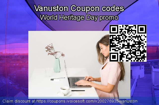 Vanuston Coupon code for 2021 Spring