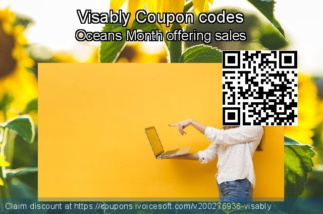 Visably Coupon code for 2021 April Fools' Day