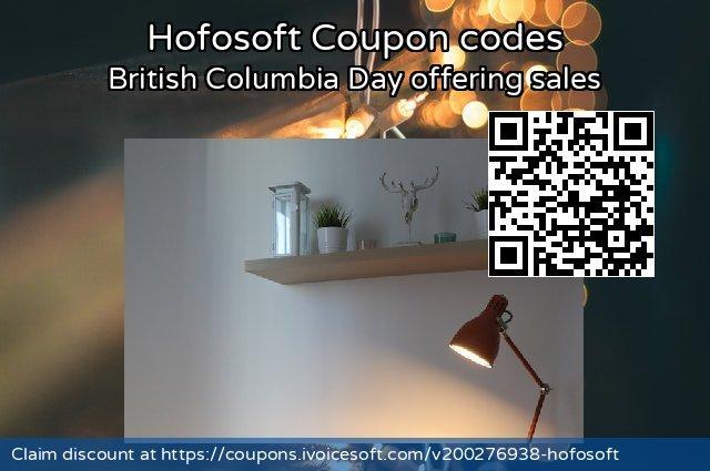 Hofosoft 特殊 产品销售, 2020 夏季