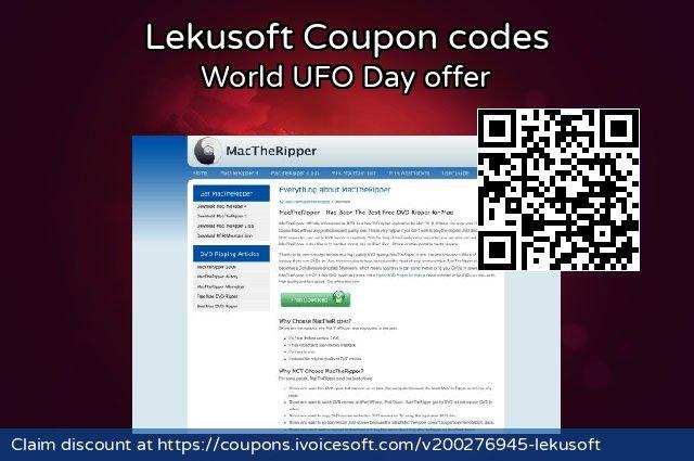 Lekusoft 大的 优惠码, 2021 母亲节