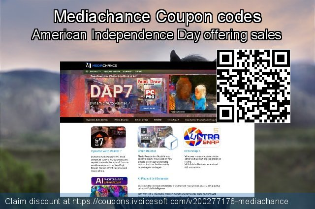 Mediachance Coupon code for 2020 Fourth of July