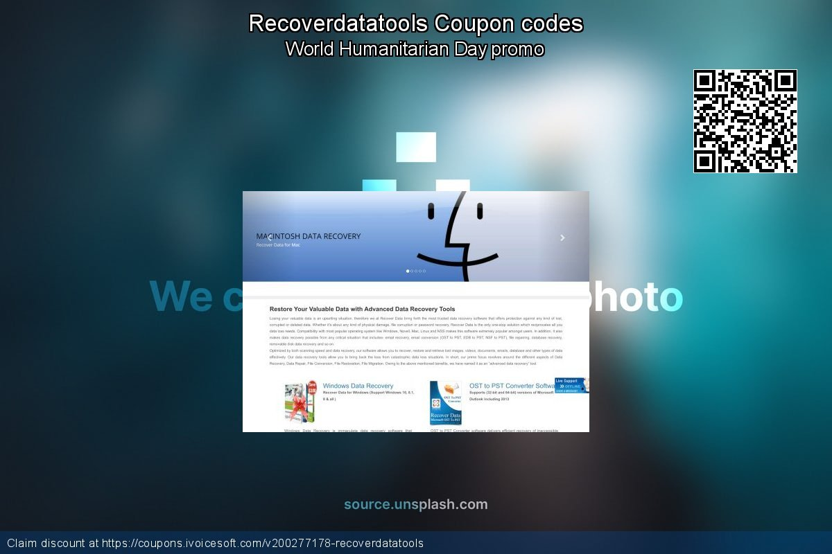 Recoverdatatools Coupon code for 2020 Happy New Year