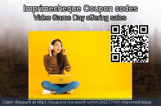 Imprimecheque Coupon code for 2020 Back to School promotion