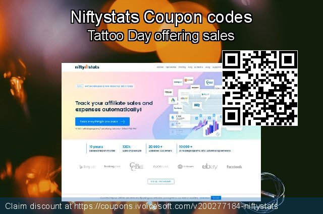 Niftystats Coupon code for 2020 New Year's Day