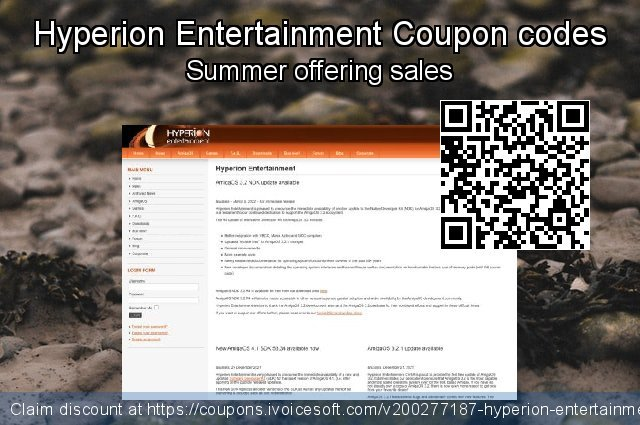 Hyperion Entertainment Coupon code for 2020 Back to School offer
