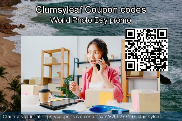 Clumsyleaf Coupon code for 2021 Mother's Day