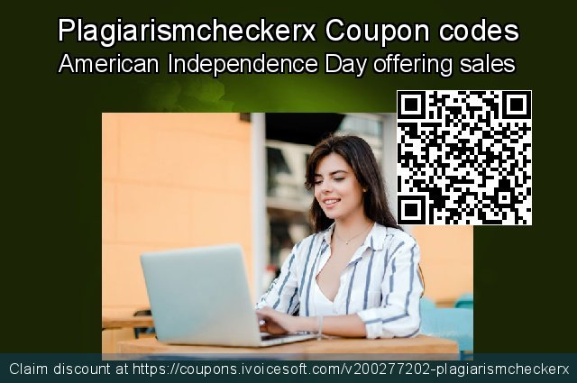 Plagiarismcheckerx Coupon code for 2020 Back to School promotion