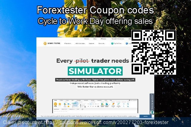 Forextester Coupon code for 2020 Back to School promo