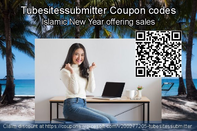Tubesitessubmitter Coupon code for 2020 Back-to-School promotions