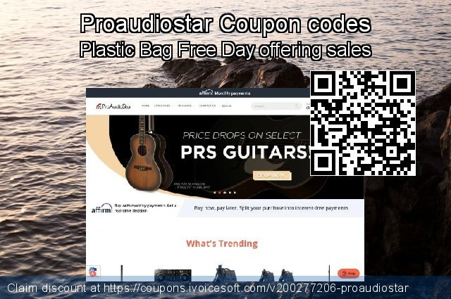 Proaudiostar Coupon code for 2020 Back to School deals