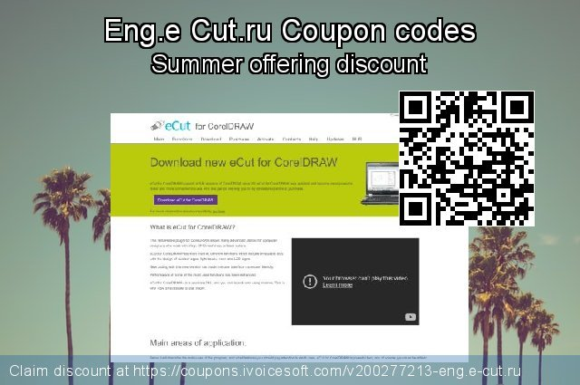 Eng.e Cut.ru Coupon code for 2020 Happy New Year