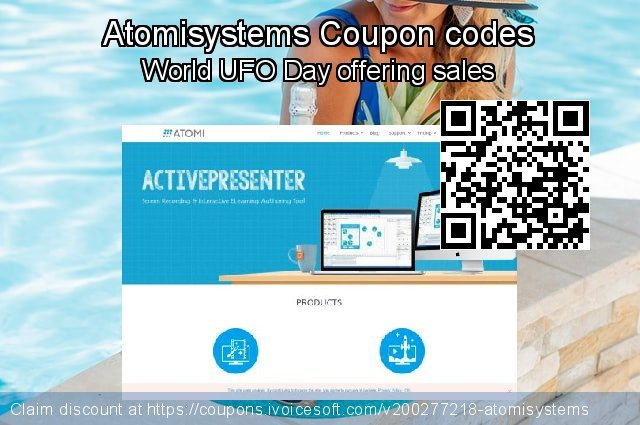 Atomisystems Coupon code for 2021 Mother Day