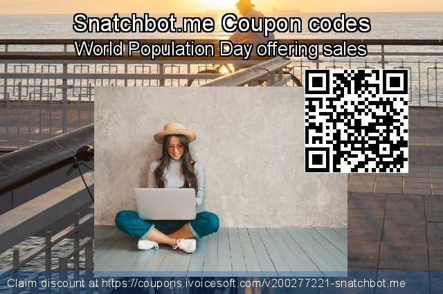 Snatchbot.me Coupon code for 2020 College Student deals