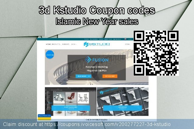 3d Kstudio Coupon code for 2021 Spring