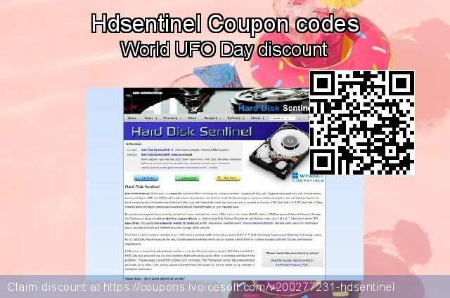 Hdsentinel Coupon code for 2020 Spring
