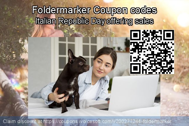 Foldermarker Coupon code for 2021 Working Day