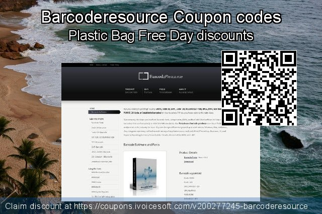 Barcoderesource Coupon code for 2021 Labour Day