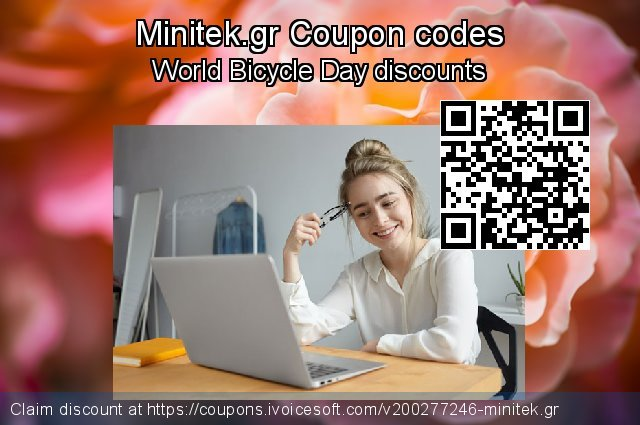 Minitek.gr Coupon code for 2020 Back-to-School promotions