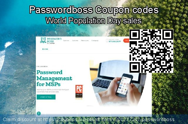 Passwordboss Coupon code for 2020 Chocolate Day