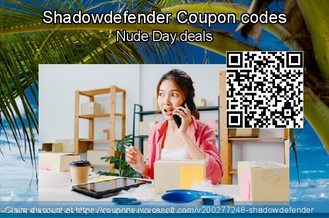 Shadowdefender Coupon code for 2020 Teddy Day