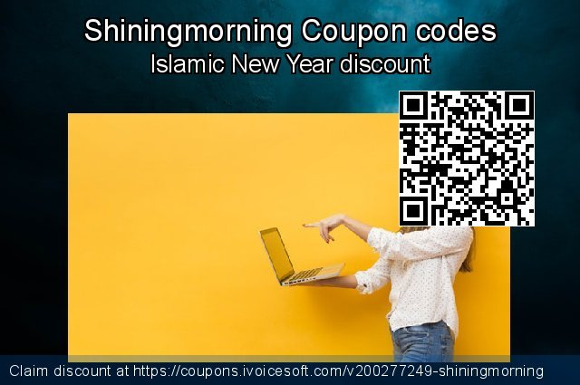 Shiningmorning Coupon code for 2021 Easter day