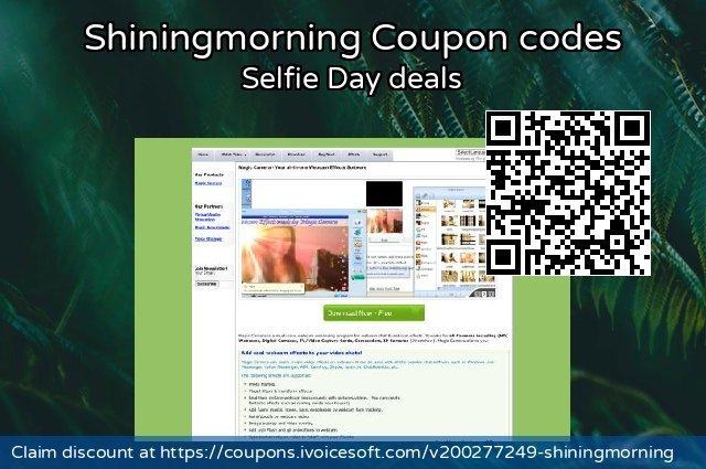 Shiningmorning Coupon code for 2020 Back to School shopping