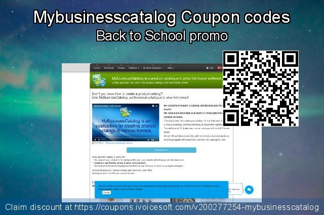 Mybusinesscatalog Coupon code for 2020  Lover's Day