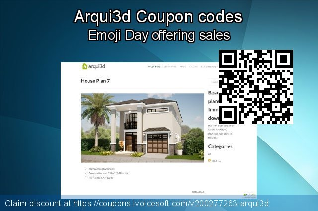 Arqui3d Coupon code for 2020 Back to School Promos