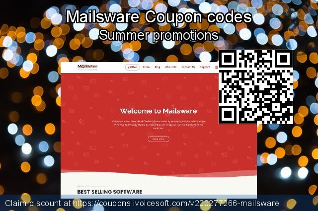 Mailsware Coupon code for 2020 Back to School promo