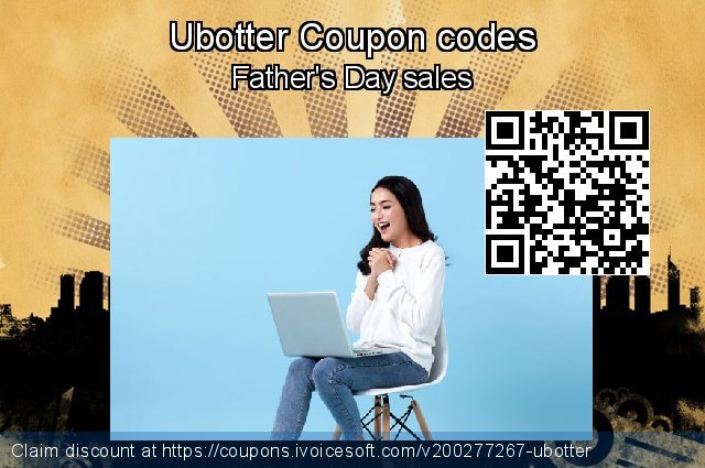 Ubotter Coupon code for 2020 Back to School event