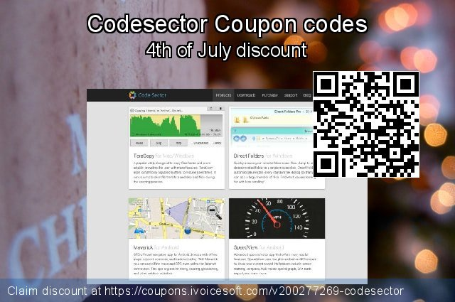 Codesector 令人敬畏的 产品销售, 2021 年初