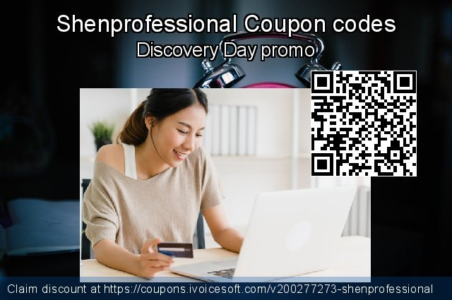 Shenprofessional Coupon code for 2020 Back to School season