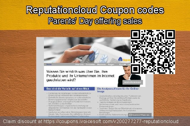 Reputationcloud Coupon code for 2021 Easter day