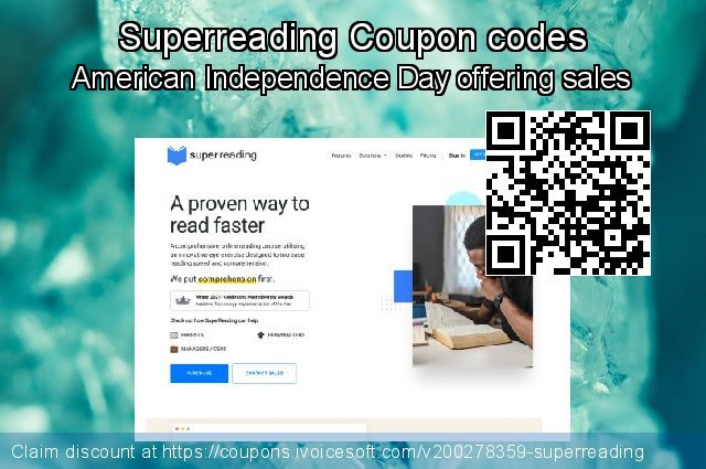 Superreading Coupon code for 2020 Halloween
