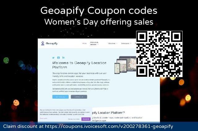Geoapify 超级的 产品销售, 2020 耶稣受难日