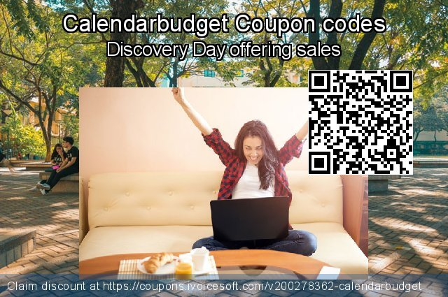 Calendarbudget Coupon code for 2020 Back to School shopping
