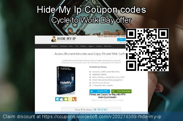 Hide My Ip Coupon code for 2021 Easter day