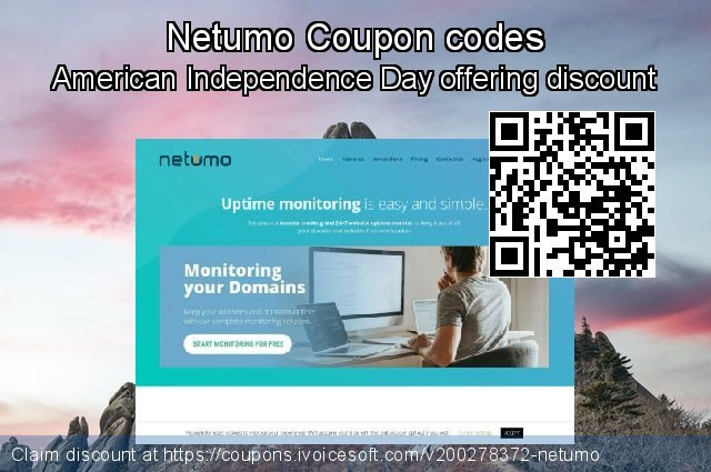 Netumo Coupon code for 2021 April Fools' Day
