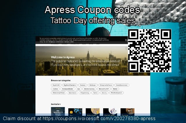 Apress Coupon code for 2021 Chocolate Day