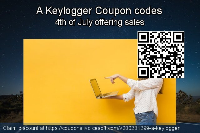A Keylogger Coupon code for 2021 Spring