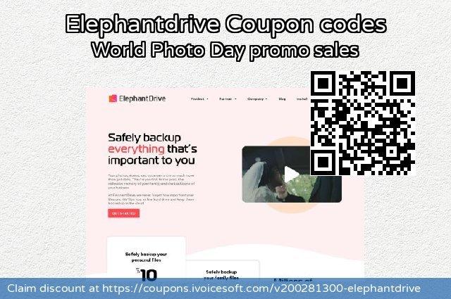 Elephantdrive 令人恐惧的 销售, 2020 回到学校