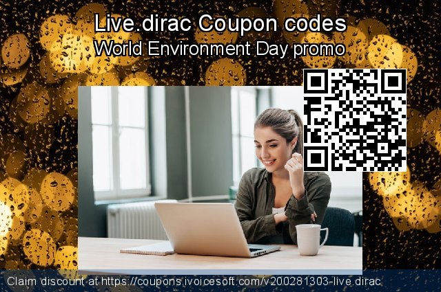 Live.dirac Coupon code for 2021 Mother's Day